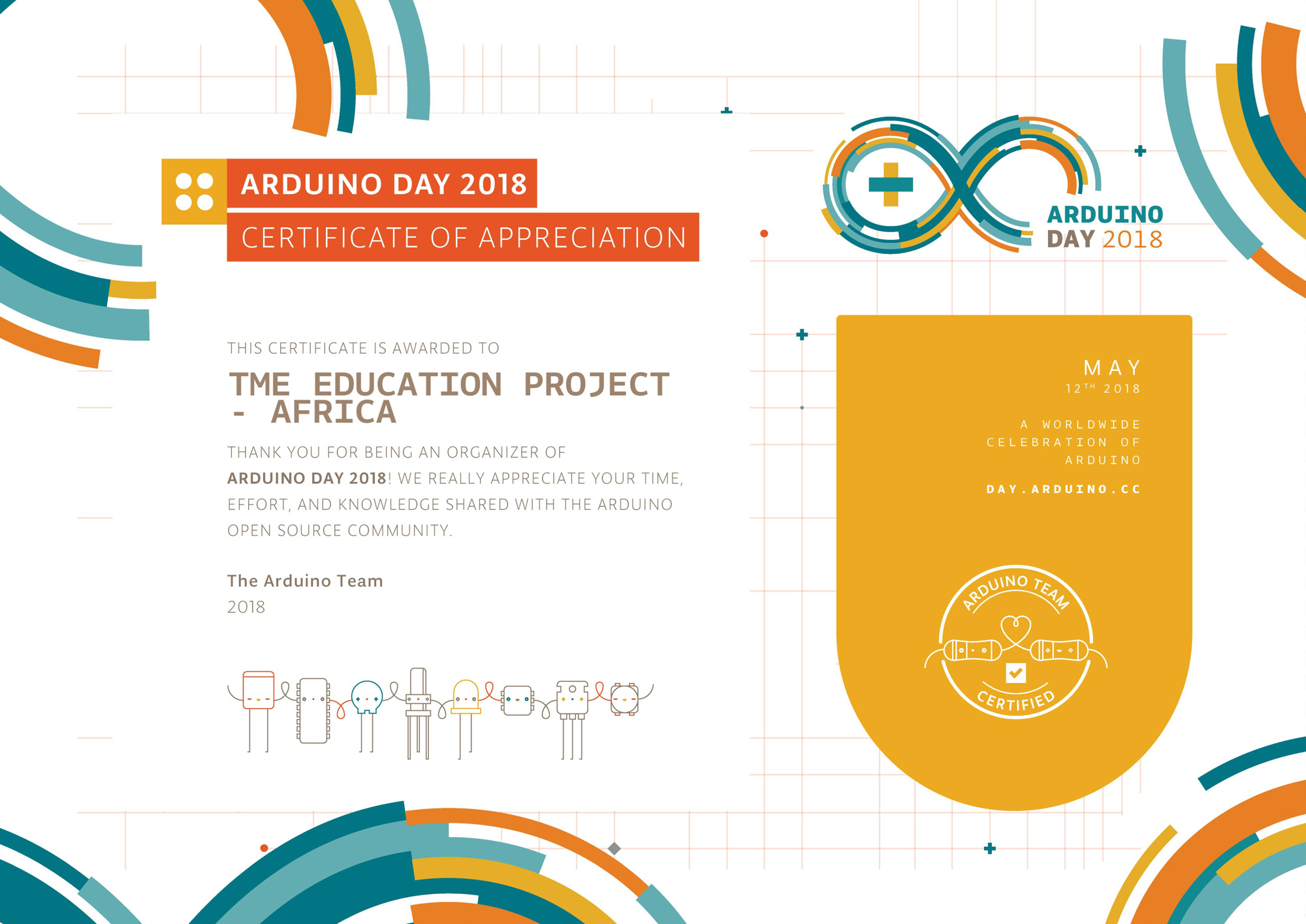Adruino Day 2018 celebrations in Tanzania!