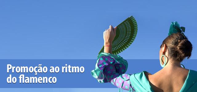 Promoção ao ritmo do flamenco