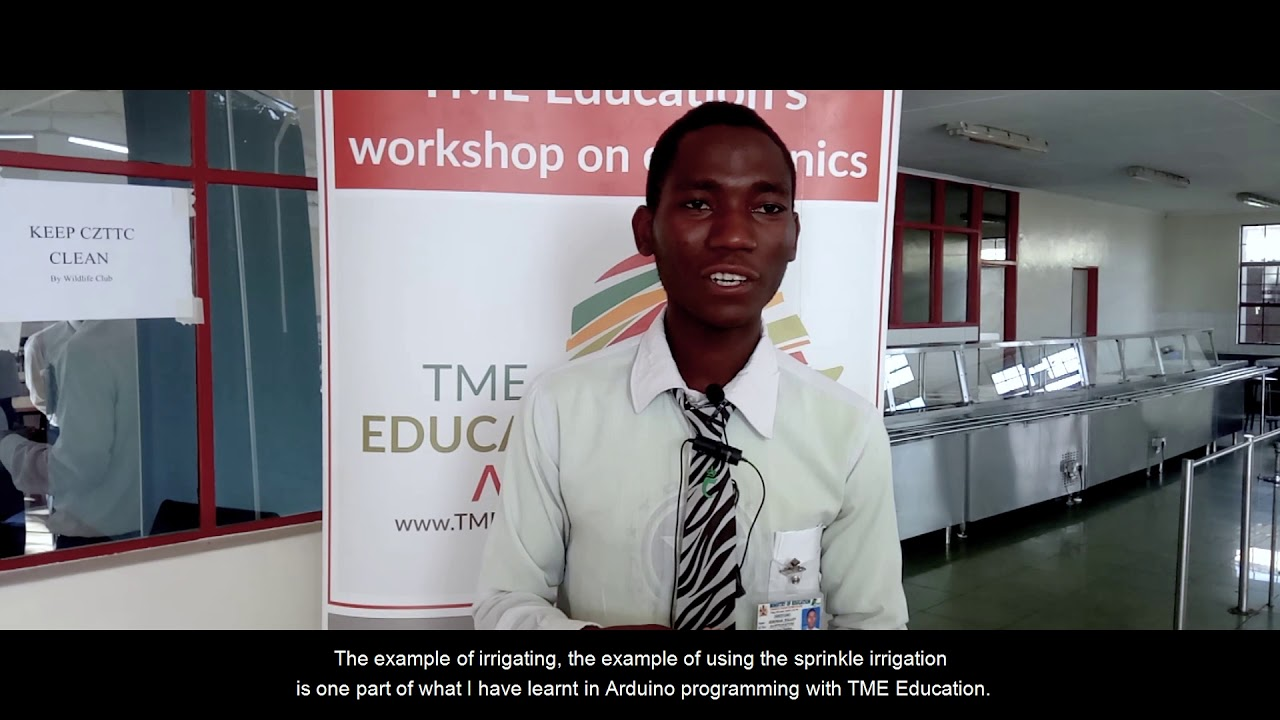 TME Education training at Chiradzulu Teachers Training College (Video)