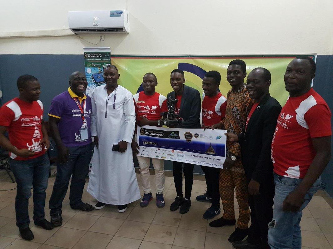 TME Education at STEM Events in Yaounde and a winning project of Loic Dessap (TME Education Cameroon)