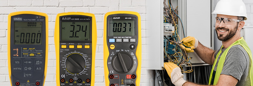 Between 01-30 April AXIOMET portable multimeters are available for even 20% less
