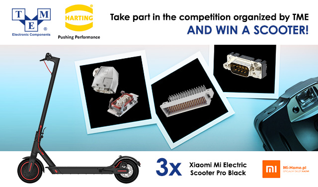 Win a prize for your idea of a new look of a Harting connector!