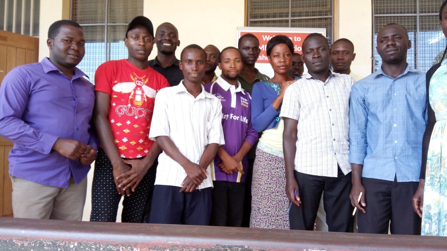 Teacher Training in Uganda going on! Watch the footage form October workshops in JVTI!