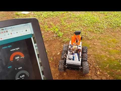 Dessbot - a robot by Loic Dessap, TME Education ambassador in Cameroon