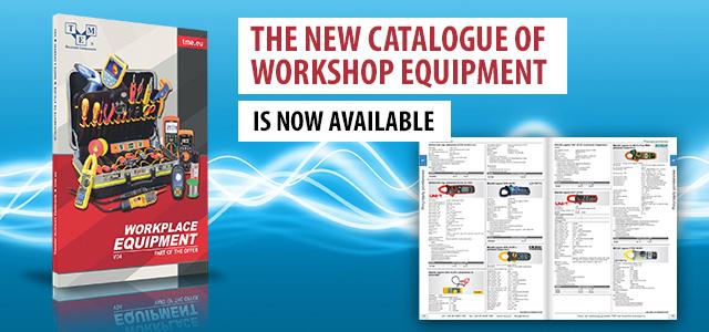 Neuer Katalog mit Werkstattausrüstung bereits erhältlich