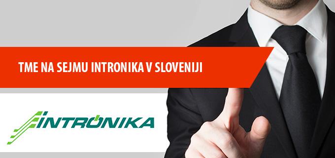 TME na sejmu INTRONIKA v Sloveniji