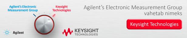 Agilent's Electronic Measurement Group vahetab nimeks Keysight Technologies