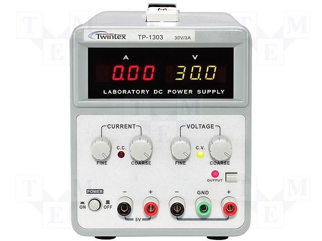 Twintex TP-1000 series dual channel power supplies