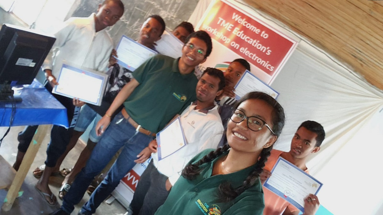 First TME Education full-time training in Madagascar!