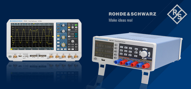 Promotional Rohde Schwarz sets are now available at TME