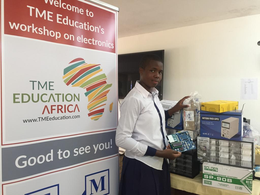 Report: TME Education Labs and Club in Tanzania.