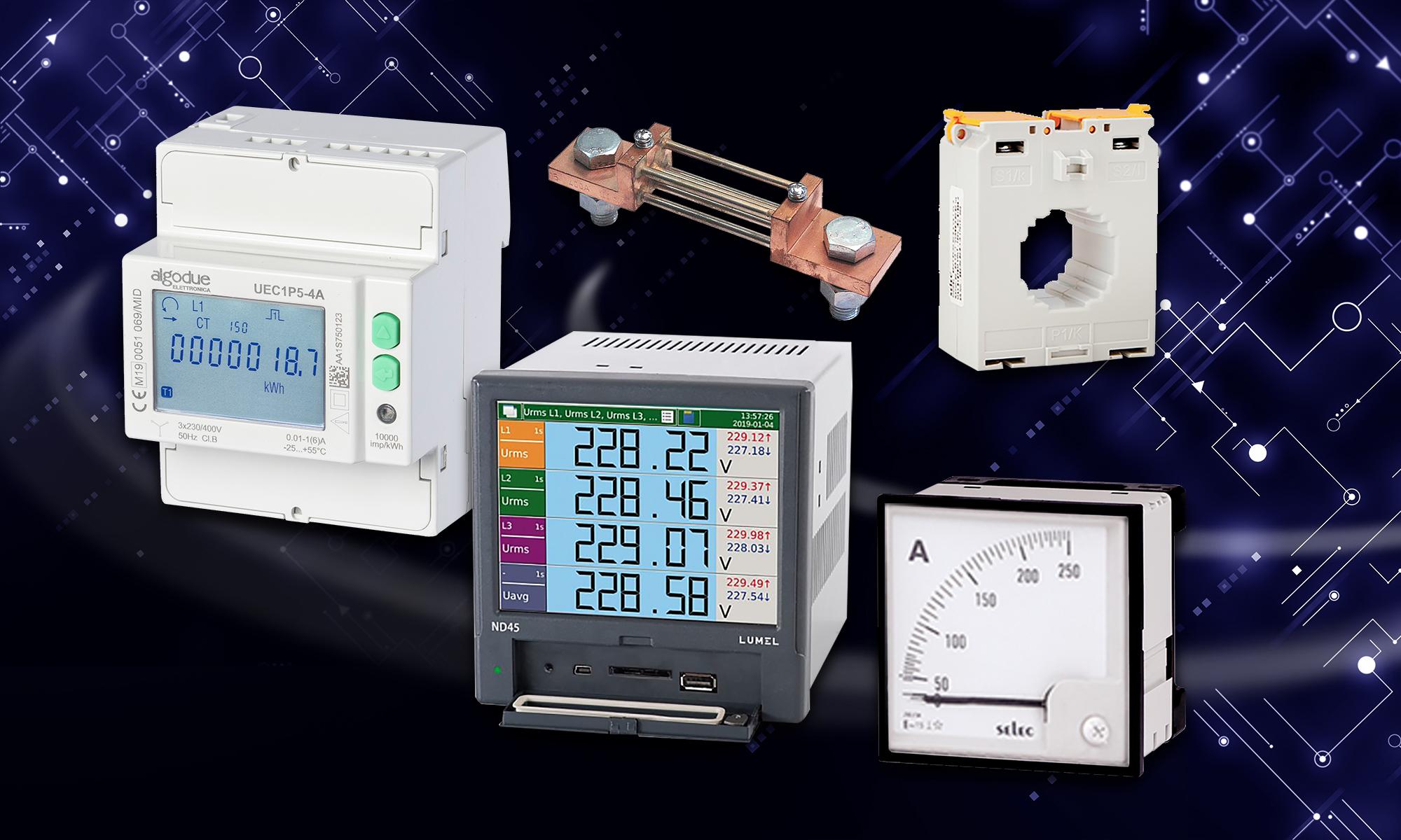 Панельные измерители в цифровой или аналоговой версии