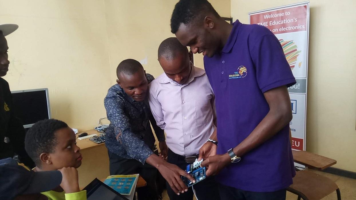 Report for TME Education training at Skillslink College, Kenya.