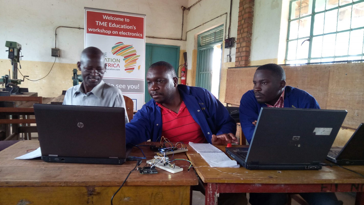 Report: Teacher Training at St. Joseph's Technical Institute, Kisubi, Uganda.