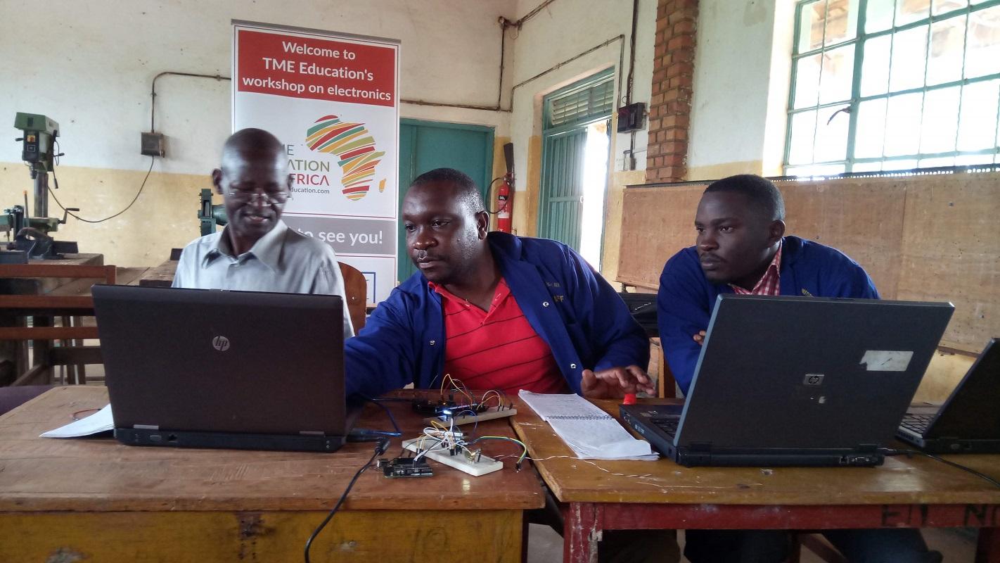 Report: Teacher Training at St. Joseph's Technical Institute, Kisubi, Uganda.