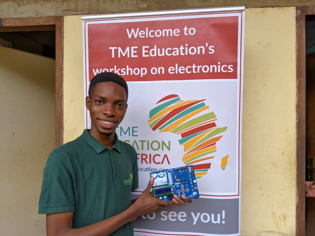 TME Education Ambassador, Loic Dessap, wins - tmeeducation com