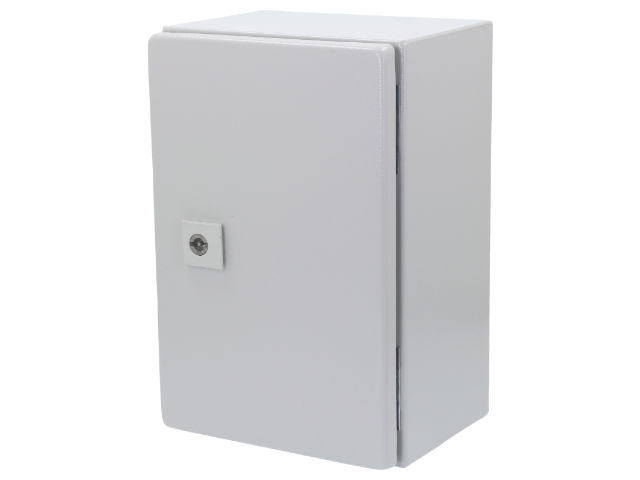 RITTAL's AE series wall mounting enclosures made of steel plate