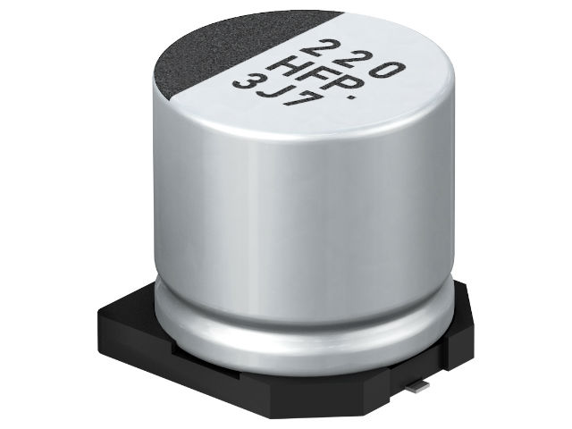 SMD electrolytic capacitors by Panasonic