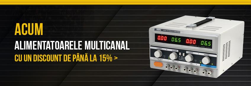 În perioada 01-31.10 alimentatoare multicanal cu până la 15% mai ieftine!