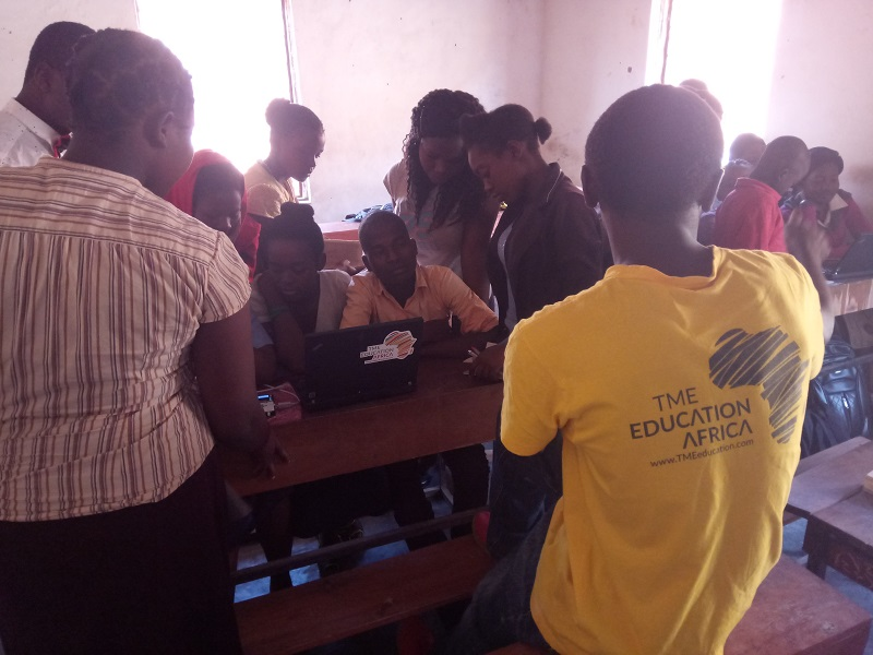 TME Education training at REPO Prrivate Secondary School