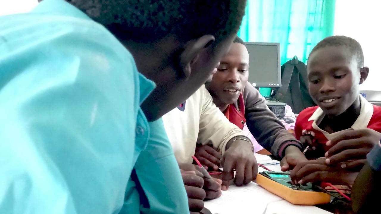 TME Education training at Machakos Institute of Technology and Kyemutheke VTC, Kenya.