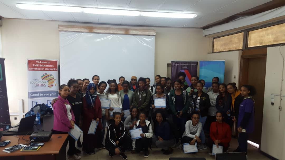 TME Education Ethiopia at Women Techmakers!
