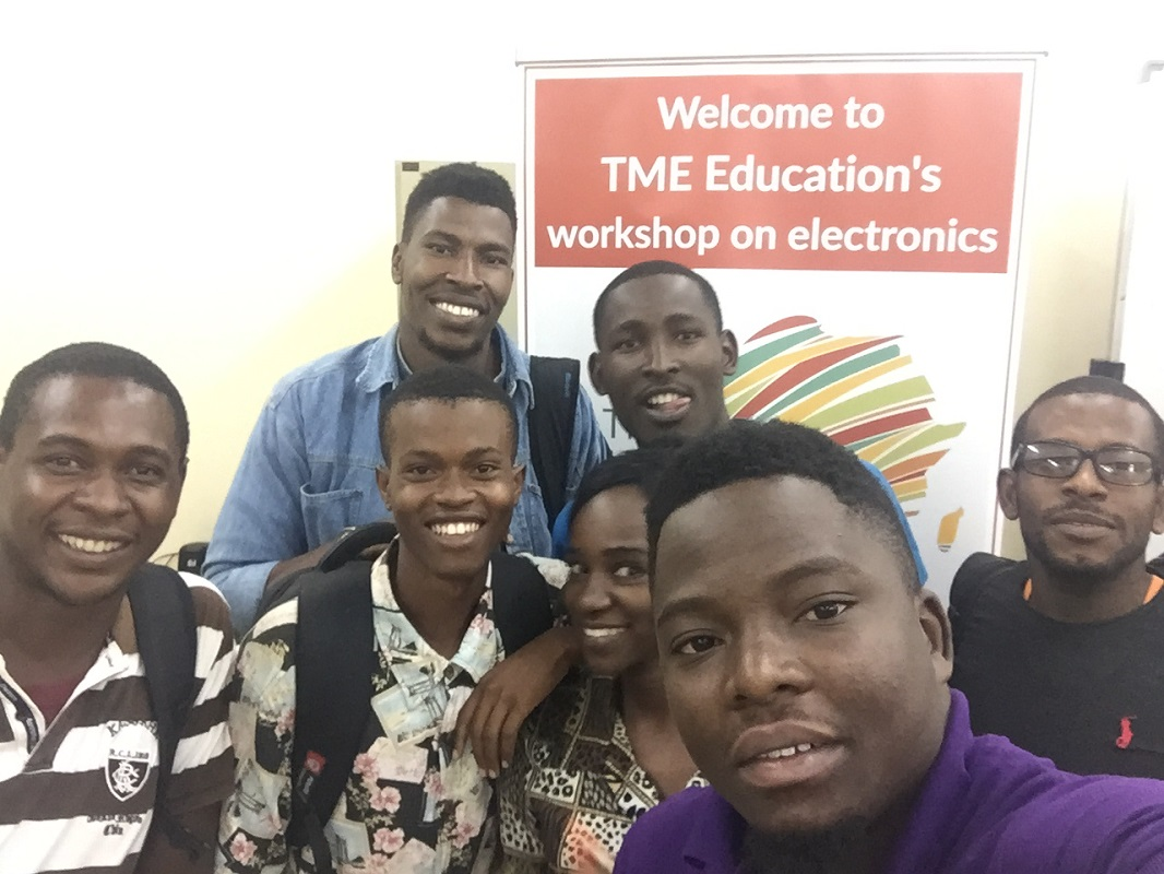 TME Education training at Arusha Technical College.