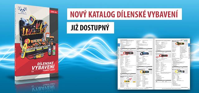 Nový katalog Dílenské vybavení již dostupný