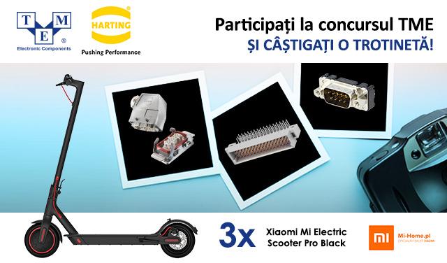 Reinventați conectorul HARTING și câștigați un premiu!