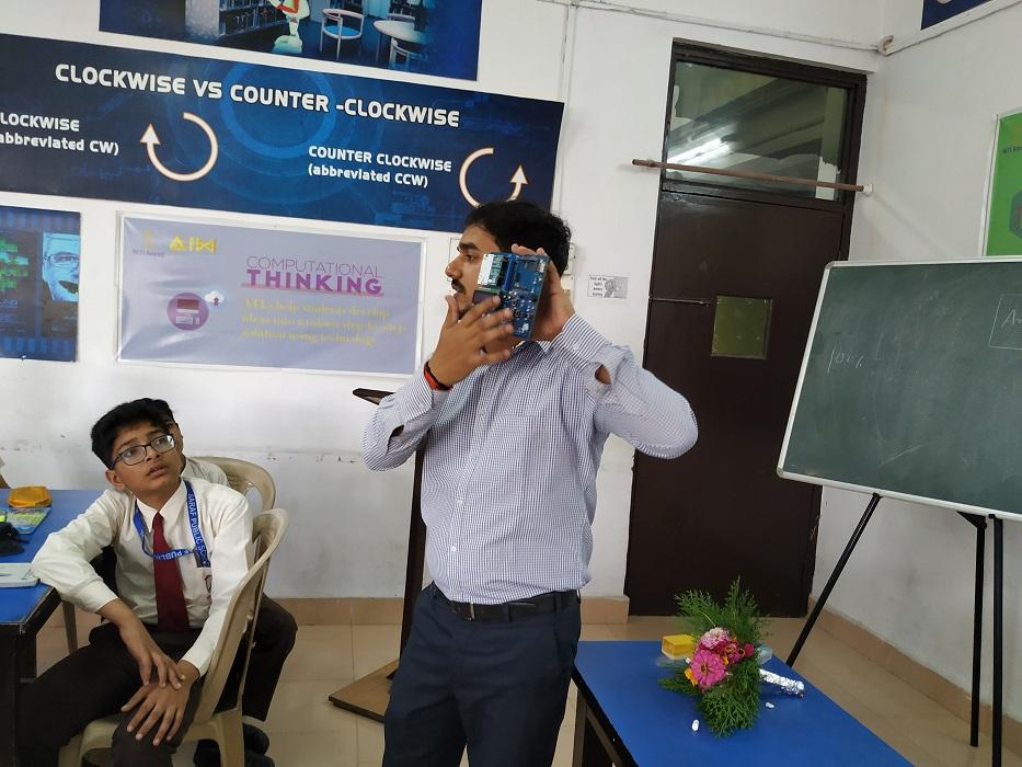 Report on TME Education Workshop in Saraf Public School Khatima, UK