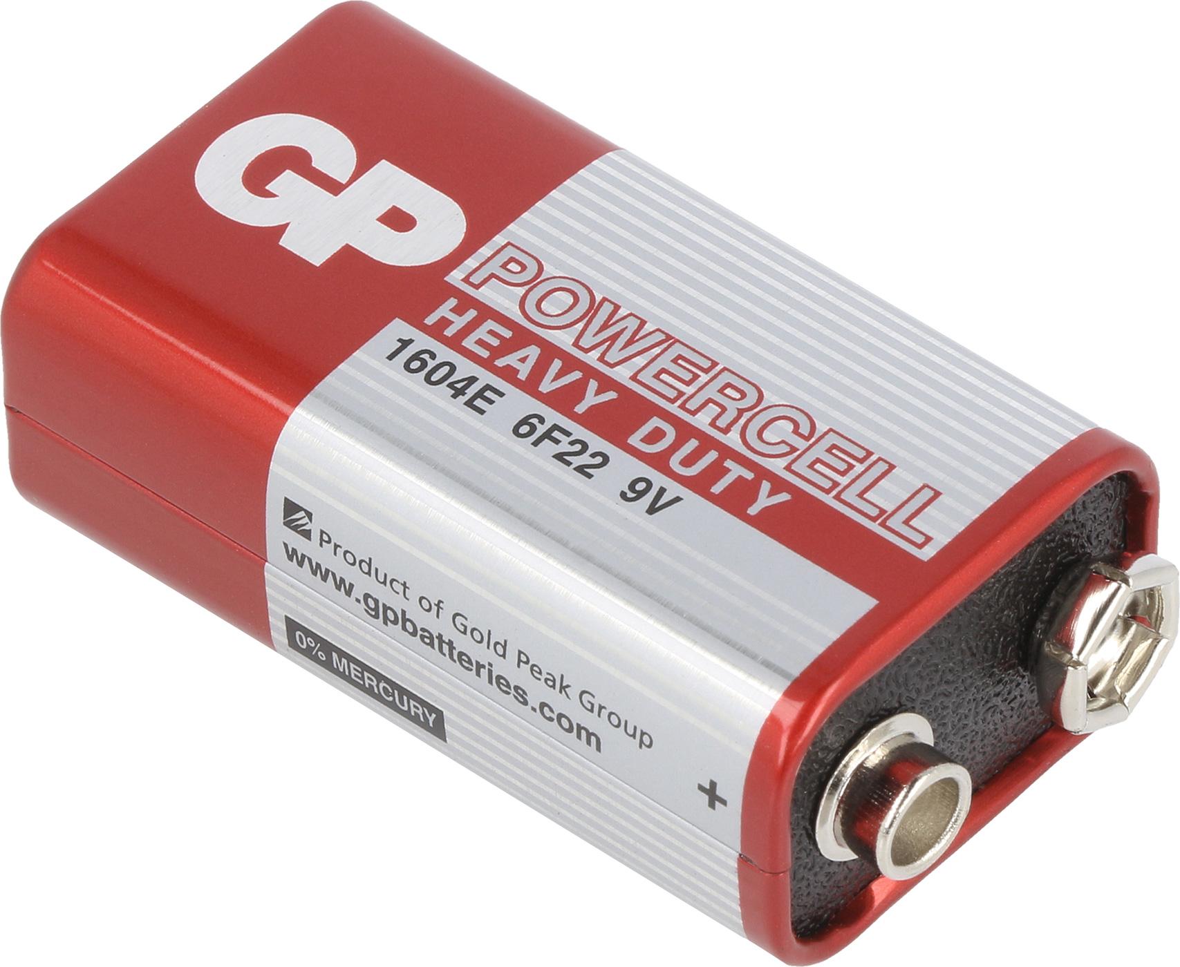 GP 1604G GP zinc cell