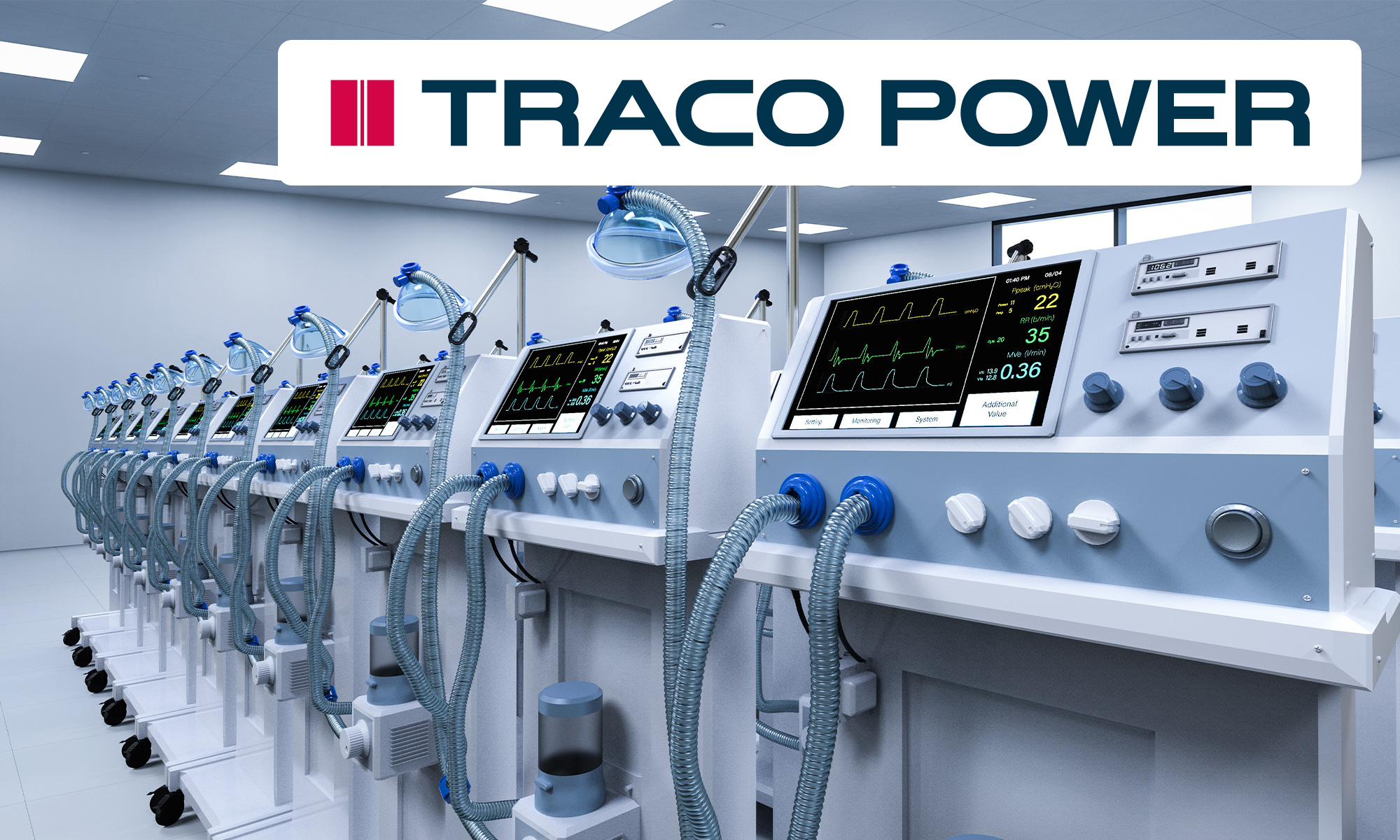 Power supply for medical devices - compliance with the standard ensures safety