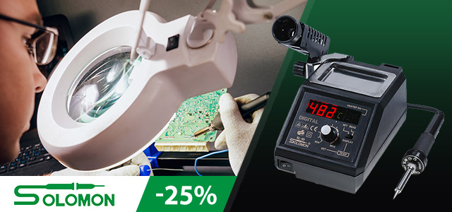 Up to 25% discount on Sorny Roong soldering equipment