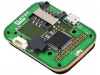 TWN4 MULTITECH 3 BLE WIEGAND OEM PCB | RFID reader; antenna; 50x35x7mm; USB; 4.3÷5.5V; Range: 100mm; 120mA
