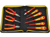 T5954 | Fogó és csavarhúzó; db: 9; Csomagolás: hordtáska; edzett acél