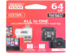 M1A4-0640R12 | Pamäťová karta; SD XC Micro; 64GB; Čítanie: 100MB/s; Zápis: 10MB/s