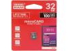 M1A0-0320R12 | Pamäťová karta; SD HC Micro; 32GB; Čítanie: 100MB/s; Zápis: 10MB/s