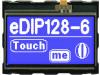 EA EDIP128B-6LWT | Display: LCD; graphical; 128x64; STN Negative; blue; 71.4x54.6mm