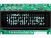 CU20045-UW5J | Zobrazovač: VFD; alfanumerický; 20x4; Znak: 4,7mm; 350cd/m2; PIN: 20