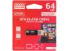 OTN3-0640K0R11 | Pendrive; OTG,USB 3.0; 64GB; Čtení: 120MB/s; Zápis: 10MB/s