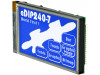 EA EDIP240B-7LWTP | Zobrazovač: LCD; grafický; 240x128; STN Negative; modrá; 113x70mm