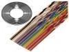132-2801-016 | Vodič: plochý kabel; 1,27mm; licna; Cu; 16x28AWG; nestíněný; PVC