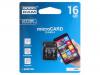 M40A-0160R11 | Muistikortti; SD HC Micro; 16GB; Luku: 15MB/s; Tallennus: 4MB/s