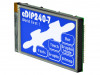 EA EDIP240B-7LWTP | Display: LCD; graphical; 240x128; STN Negative; blue; 113x70mm; LED
