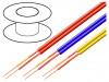 C118-BLACK | Vodič: mikrofonní; 2x0,14mm2; černá; OFC; PVC; -15÷70°C; 2,9x5,8mm