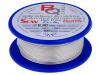 SCW-0.80/100 BQ CABLE, Postriebrený medený drôt