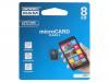 M400-0080R11 | Muistikortti; SD HC Micro; 8GB; Luku: 15MB/s; Tallennus: 4MB/s