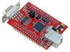 EA-QSB-010 | Výv.kit: ARM NXP; LPC2148; I2C x2,RS232,SPI,SSP,UART x2,USB