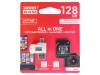 M1A4-1280R11 | Muistikortti; SD XC Micro; 128GB; Luku: 60MB/s; Tallennus: 10MB/s