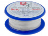 SCW-0.35/100 | Silver plated copper wires; 0.35mm; 100g; 160m; -200÷800°C